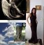 Fotomontaże + osobno materiały z których powstał fotomontaż
